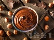 Домашен течен шоколад с лешников тахан, какао и мед